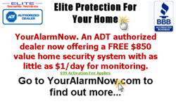 Phoenix Home Alarm Systems from Elite Security Services Enhanced with the Addition of Loud Burglar Alarm